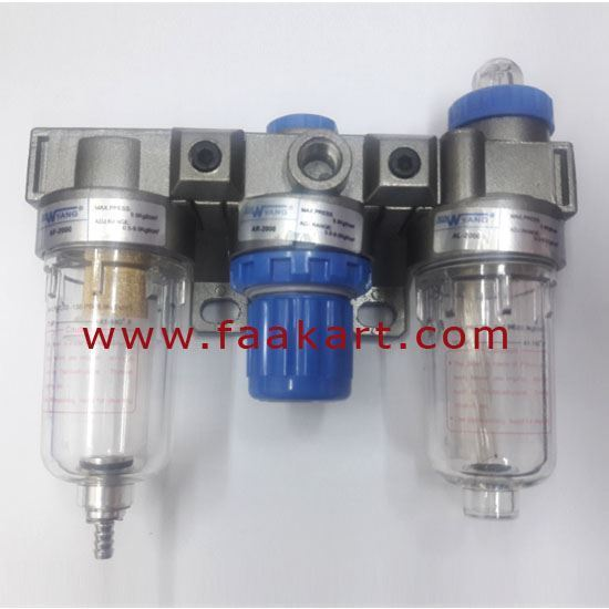 Picture of AC2000 Air Filter Regulator Lubricator 1/4""