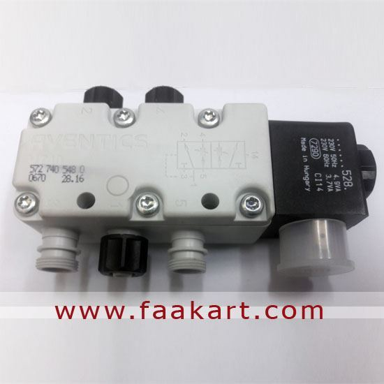 Picture of V740-5/2AR  Aventics Pneumatic Directional Valve 5727405480