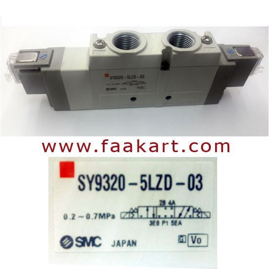 Picture of SMC SY9320-5LZD-03 Directional Solenoid Valve