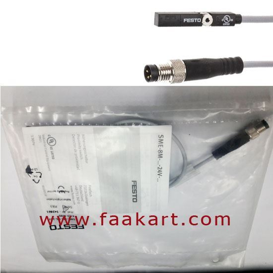 Picture of SME-8M-DS-24V-K-0,3-M8D - Festo Proximity Sensor/ Magnetic Position Reed
