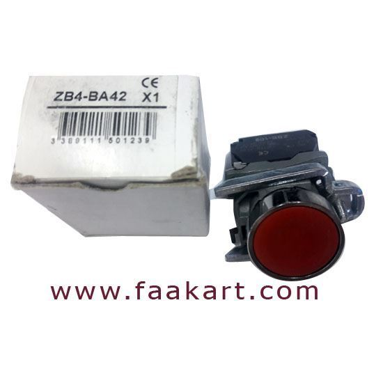 Picture of ZB4BA42 - Schneider Red Push Button