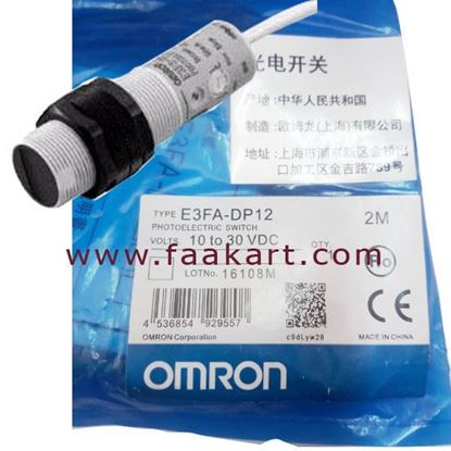 Picture of E3FA-DP12 - Omron Diffuse Photoelectric Sensor