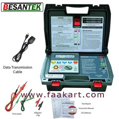 Picture of BST-IT706  BESANTEK  Digital High Voltage Insulation Tester 5kV