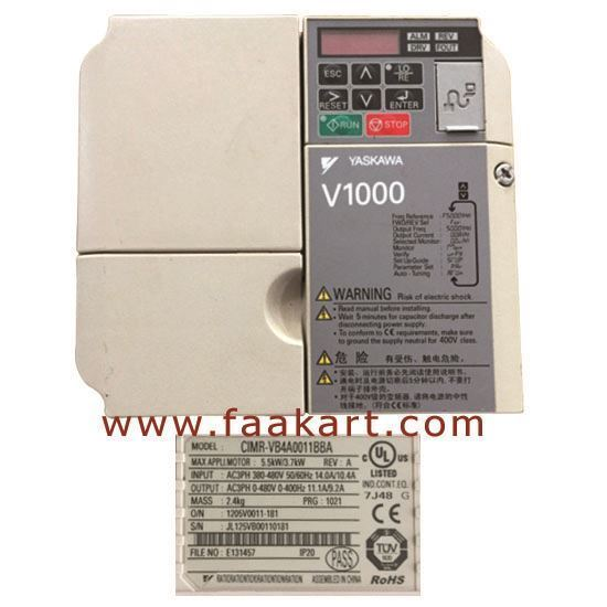 Picture of CIMR-VB4A0011BBA Yaskawa Inverter