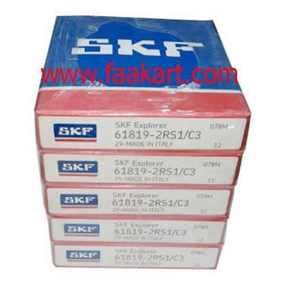 Picture of 61819-2RS1/C3 SKF  Deep Groove Ball Bearings