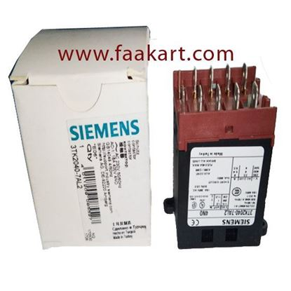 Picture of 3TK2040-7AL2 SIEMENS MINIATURE POWER RELAY TAB CONNECTOR