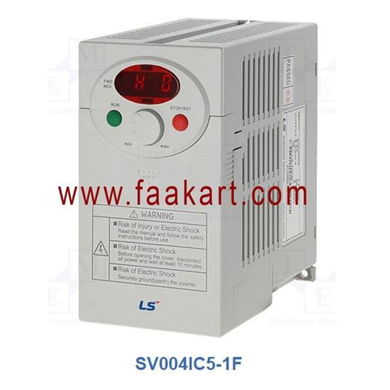 Picture of SV004IC5-1F - 0.37kW 230V AC Inverter Drive