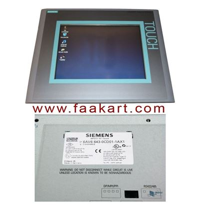 "Picture of 6AV6643-0CD01-1AX1 - SIMATIC MP 277 10"" Touch Multi Panel"