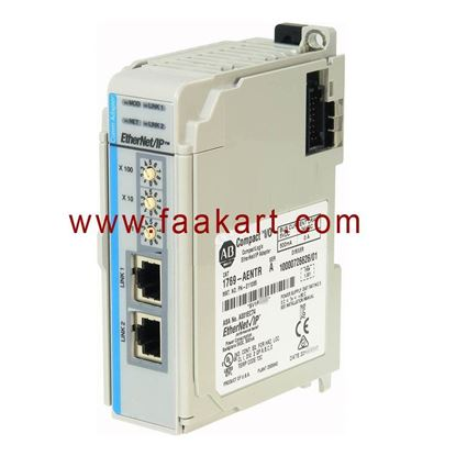 Picture of 1769-AENTR Allen Bradley  EtherNet/IP distributed Module