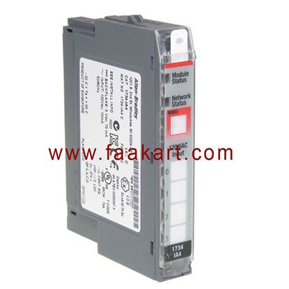 Picture of 1734-IA4 Allen Bradley I/O Module, Series C Digital AC Input