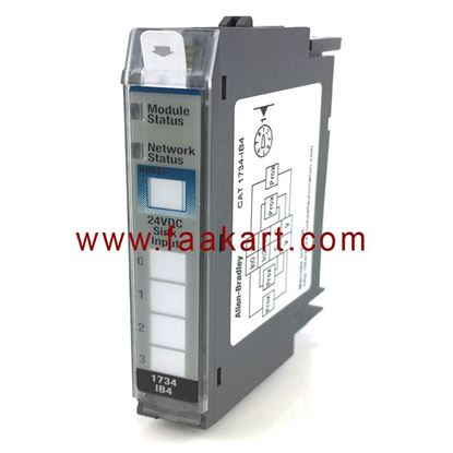 Picture of 1734-IB4 Allen Bradley I/O Module, Digital DC Input, 4 Channel