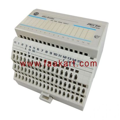 Picture of 1794-IB16 Allen Bradley I/O Module, 16 Digital, Sink Inputs, 24VDC