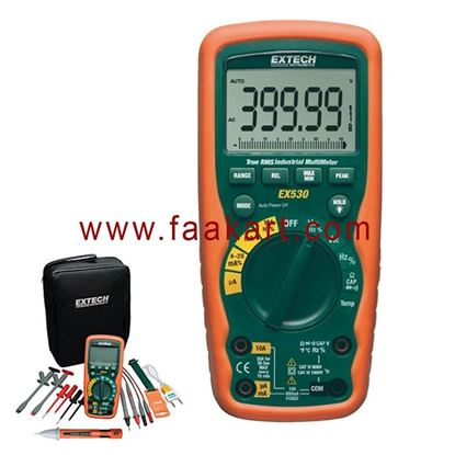Picture of EX530-KIT - Extech Industrial MultiMeter Test Kit