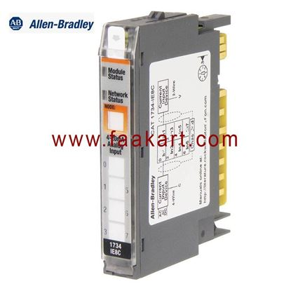 Picture of 1734-IE8C Allen Bradley I/O Module, Analog, 8 Inputs