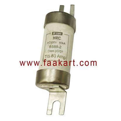 Picture of 80A HRC FUSE AC550V 80kA TIS 80Amp