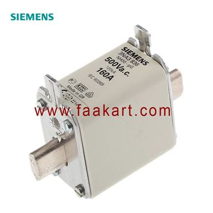 Picture of 3NA3836 Siemens 160A 00 NH Centred Tag Fuse
