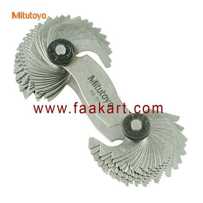 Picture of 188-151 Mitutoyo Screw Pitch Gage, 4 - 42 TPI and 0.4 - 7mm