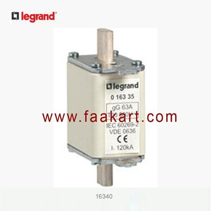 Picture of 80A 500V gG 16340 LEGRAND HRC Fuse