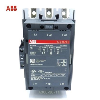 Picture of A300-30-11-51 ABB Contactor 480V AC, 60 Hz  Coil
