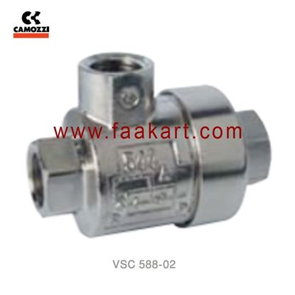 "Picture of VSC 588-02  Camozzi  Quick Exhaust Valves - 1/8"""