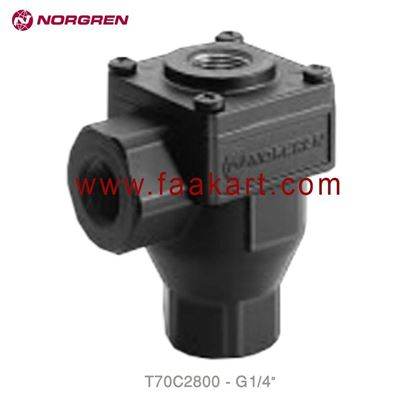 "Picture of T70C2800 Norgren Exhaust Valve 1/4"" - BSPP"