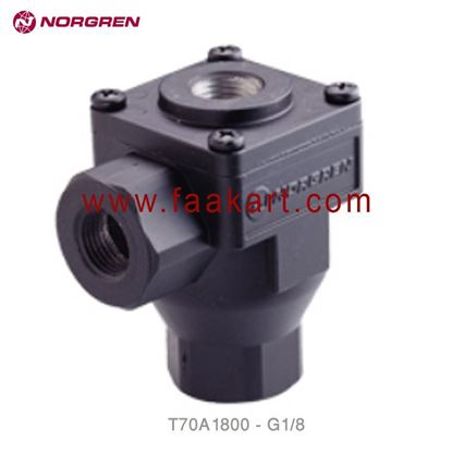 """Picture of T70A1800 Norgren Exhaust Valve 1/8"""" - NPT"""