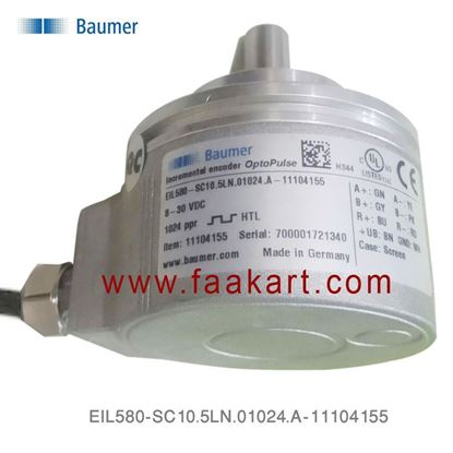 Picture of EIL580-SC10.5LN.01024.A-11104155  Baumer Incremental Encoder