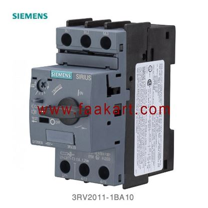 Picture of 3RV2011-1BA10 Siemens Motor Protection Circuit Breaker