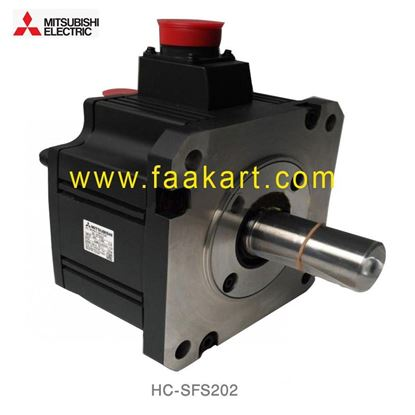 Picture of HC-SFS202 Mitsubishi AC Industrial Servo Motor
