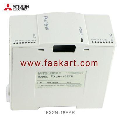 Picture of FX2N-16EYR Mitsubishi FX2N Series PLC I/O Module