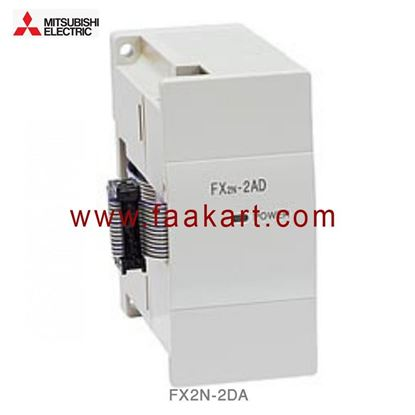 Picture of FX2N-2DA  Mitsubishi Analogue Output Module