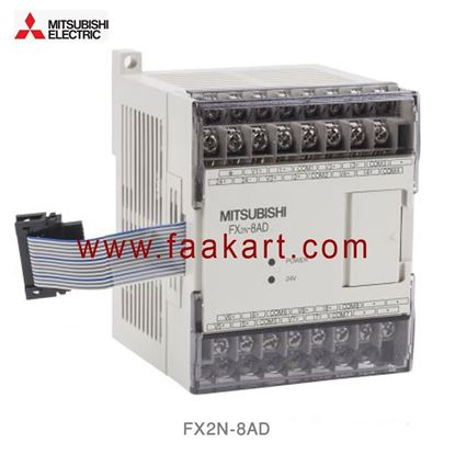 Picture of FX2N-8AD Mitsubishi PLC Expansion Module