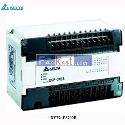 Picture of Delta DVP24ES200R Programmable Logic controllers