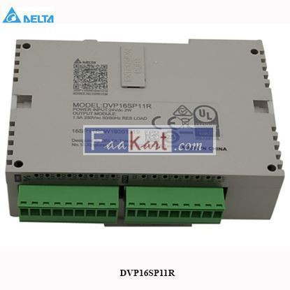 Picture of Delta DVP16SP11R SS series  Programmable Logic Controller