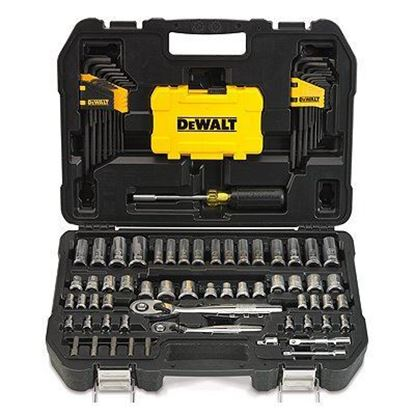 Picture of DeWalt Mechanics Tool Set, 108-Pc