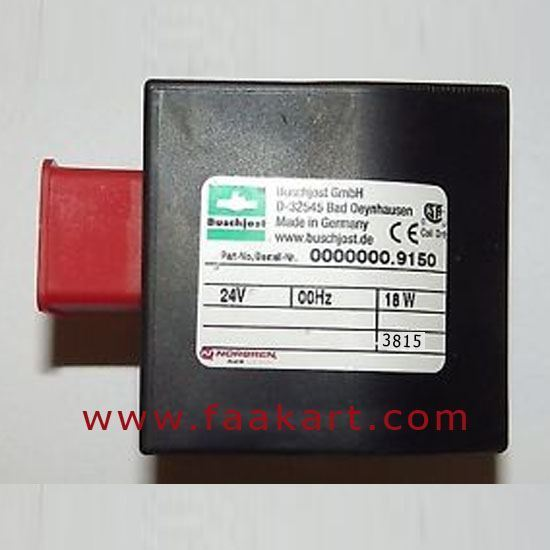 Picture of Norgern/Buschjost Solenoid Coil - 0000000.9150