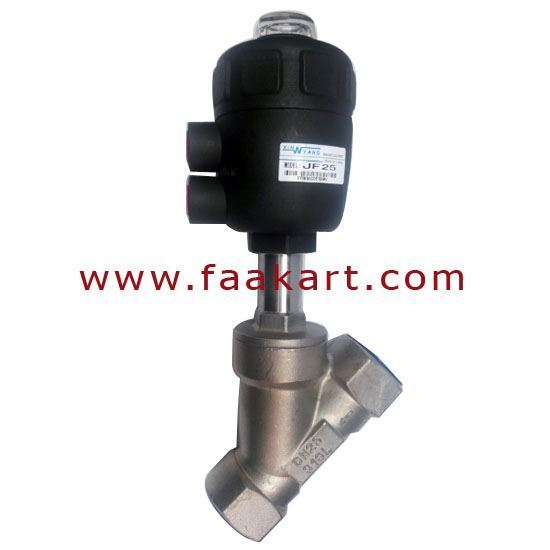 """Picture of Angle Set Valve 1"""" Size JF25 Stainless Steel"""