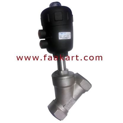 "Picture of Angle Set Valve 1 1/2"" Size JF25 Stainless Steel DN40"