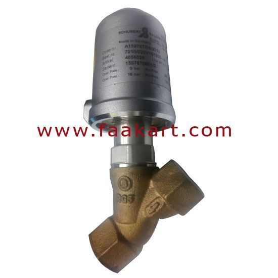 """Picture of Angle Seat Valve 7010/020V101000...H, Schubert and Salzer -  3/4"""" Size"""