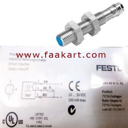 Picture of SIEN-M8B-PS-S-L - Festo Inductive Sensor 150387