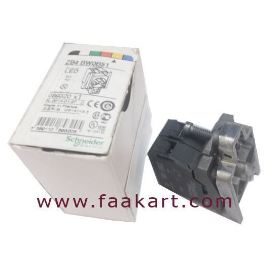 Picture of ZB4BW0B51 - Schneider Lamp Module and Contact Block