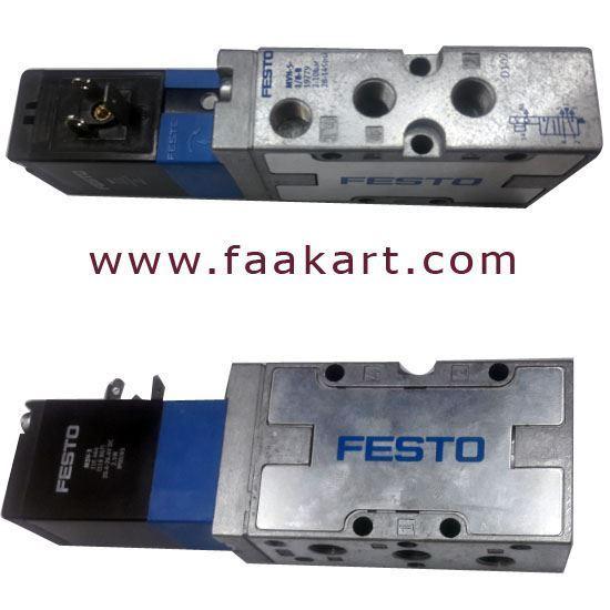Picture of MVH-5-1/8-8-B  (19779) - Festo Solenoid valve