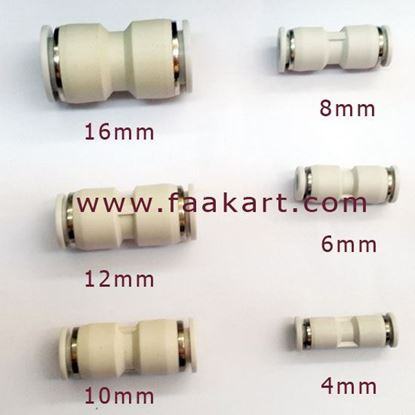 Picture of Pneumatic Straight Union Connectors