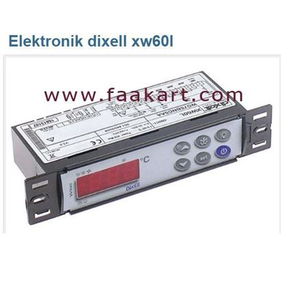 Picture of DIXELL XW60L  WG7SBNC5AA Digital controller Emerson
