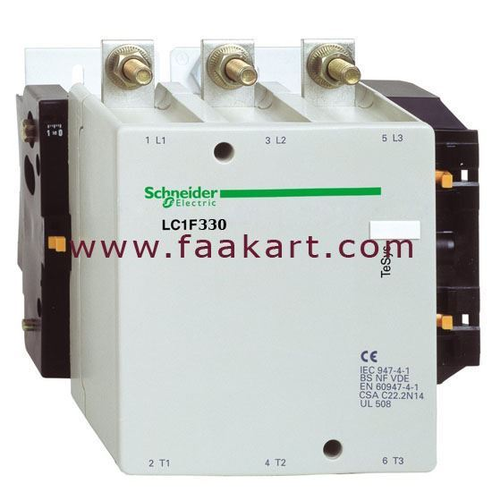Picture of Schneider LC1F330 185KW 110VCAC Contactor