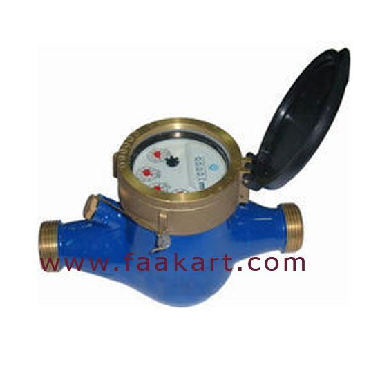 """Picture of Water Meter 1/2"""" Analog Type - Italy"""