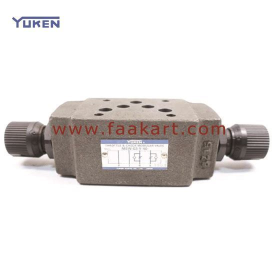 Picture of MSW-03-Y-40 Yuken Check / Throttle Valve