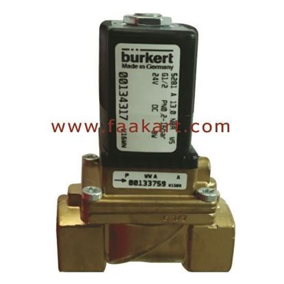 "Picture of 00134317 Burkert 2/2 Way Solenoid Valve  1/2"" Size"