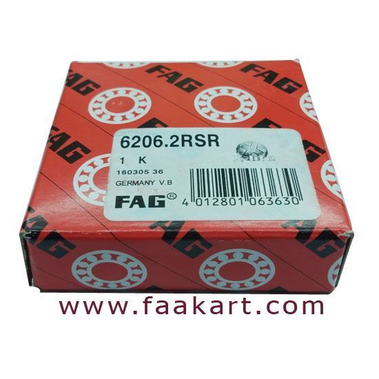 Picture of 6206-2RSR, FAG BALL BEARING
