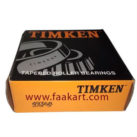 Picture of 49368 Timken  Tapered Roller Bearing
